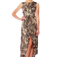 Animal Instinct Hi-Lo Dress