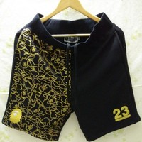 Men's Fashion Print Embroidery Men High Quality Casual Shorts [211462225932]