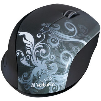 Verbatim Wireless Optical Mouse (graphite Design)