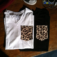 Pocket T-Shirts - Cheetah Pack (2x)