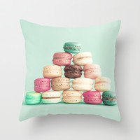 Soft Sweet Pyramid Throw Pillow by AC Photography | Society6