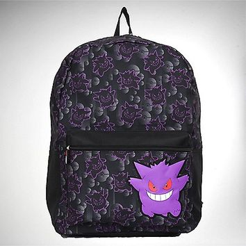 Ziptop Gengar Pokemon Backpack - Spencer's