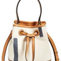 Tory Burch Canvas Bucket Bag
