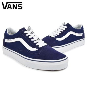 VANS Classic Old Skool Canvas Sneakers Sport Shoes