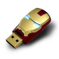 2012 Marvel Avengers Movie Iron Man Mark Iv 8gb Usb2.0 Flash Drive Tony Stark New and Fashion