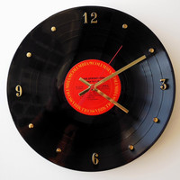 BRUCE SPRINGSTEEN Recycled Record Clock (Born To Run)