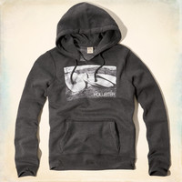 Photo Real Surf Graphic Hoodie