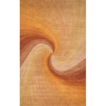 Trans Ocean Dunes Waves Sunset Area Rug