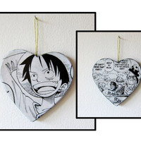 One Piece -- One of a Kind Double Sided Anime / Manga Ornament