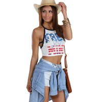 Ivory Free Your Mind Crop Top