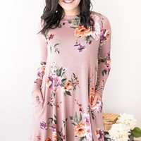 The Day We Met Fall Floral Dress