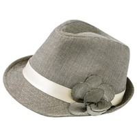 Mossimo Supply Co. Fedora With Flower Hat - Tan
