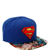 DC Comics Superman Man Of Steel Snapback Hat