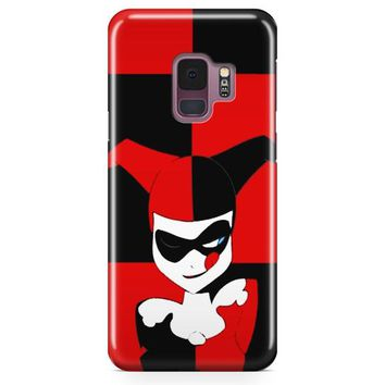 Harley Quinn Batman Arkham City Samsung Galaxy S9 Case | Casefantasy