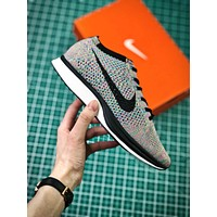 Nike Air Zoom Mariah Flyknit Racer Multicolor Sport Running Shoes