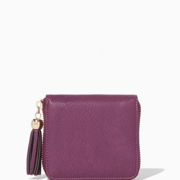 Square Tassel Wallet | Fashion Handbags | Charming Charlie