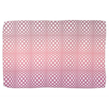 Abstract Squares 9 Towel