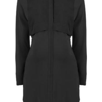 MATERNITY Hybrid Shirt Dress - Black