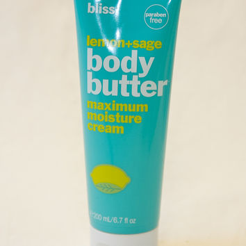 Bliss Body Butter Lemon + Sage
