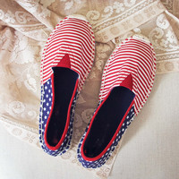 Star Spangled Espadrilles