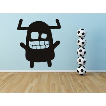 Wall Vinyl Decal Sticker Bedroom Decal Nursery Kids Baby Monster Funny  z649