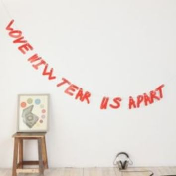 UrbanOutfitters.com > Love Will Tear Us Apart Party Banner