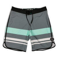 Live Fit. Apparel — Wedge Boardshorts- Grey