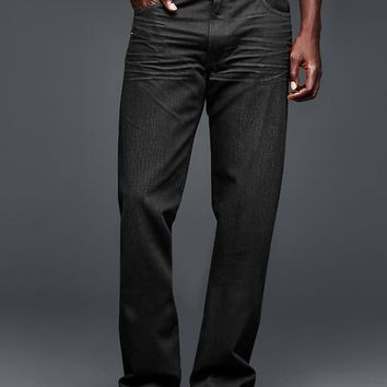 Gap Men 1969 Standard Fit Jeans Black Wash