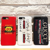 Perfect Gucci 2017 Hot ! iPhone X iPhone 8 iPhone 8 plus - Stylish Cute On Sale Hot Deal Apple Matte Couple Phone Case For iphone 6 6s 6plus 6s plus iPhone 7 iPhone 7 plus