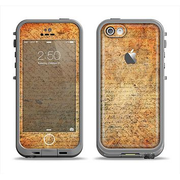 The History Word Overlay V2 Apple iPhone 5c LifeProof Fre Case Skin Set