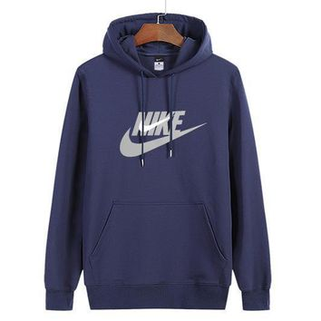 Nike Women Man Fashion Print Sport Casual Top Sweater Pullover Hoodie-14