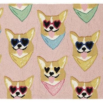 CORGI HOOK RUG 2X3 FT