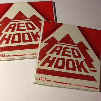 Beer Coaster: Red Hook (pack of 4)