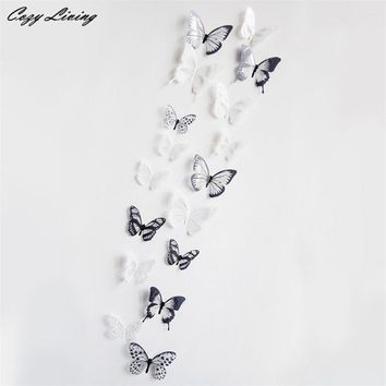 3D Butterfly Decor Wall Sticker