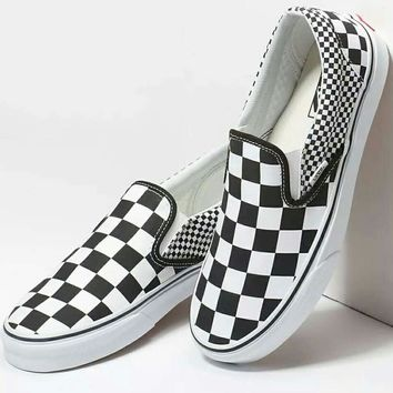 VANS 2018 men and women fashion casual low top leisure shoes F-CSXY