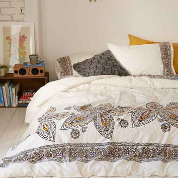 Amita Oversized Floral Duvet Cover