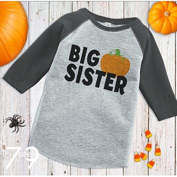 Custom Party Shop Youth Big Sister Halloween Shirt