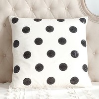 The Emily + Meritt Sequin Dot Euro Pillow Cover