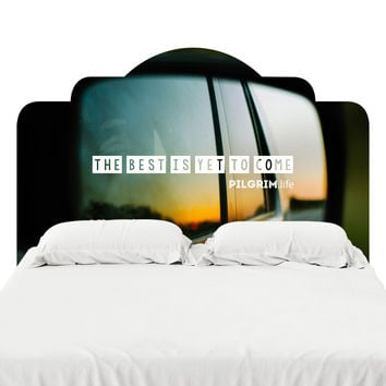 Yet to Come Headboard Decal
