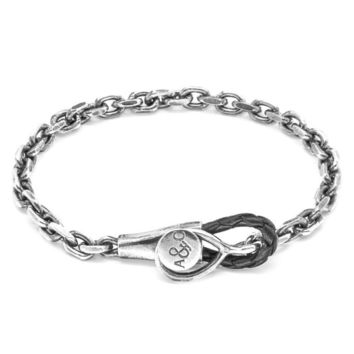 """Sterling Silver Chain Bracelet """"Dundee Mooring"""""""