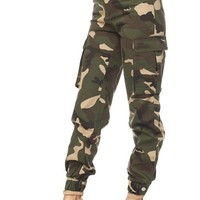 Jane of the Jungle Camo Bottoms