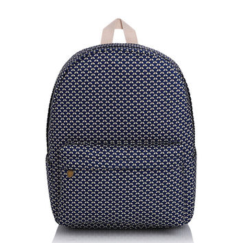 Casual Canvas Korean Backpack = 4887819204