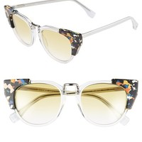 Women's Fendi 'Fashion Show' 50mm Sunglasses