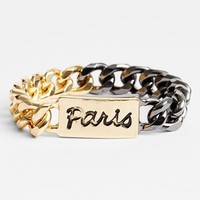 BCBGeneration 'Paris' Chain Link Bracelet