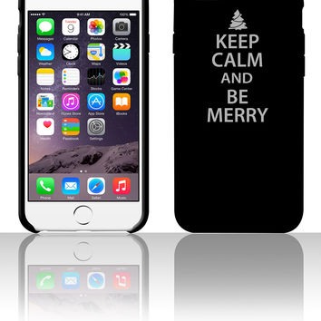 Keep Calm and Be Merry Christmas 5 5s 6 6plus phone cases