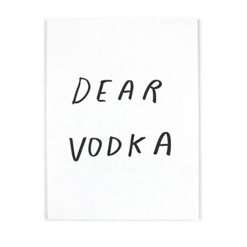 Dear Vodka Art Book
