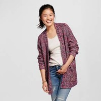 Women's Oversized Cardigan Rainbow Marl - Mossimo Supply Co.™(Juniors')