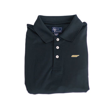 Tennessee Nashville Clubhouse Performance Polo Black