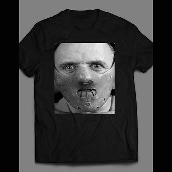 SILENCE OF THE LAMBS HANNIBAL LECTER SHIRT