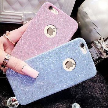 Hot Sale !Flash Glitter Candy Case For iPhone 7 iPhone 7 plus - Stylish On Sale Couple Phone Case Crystal Bling Soft Back Cover Capa I